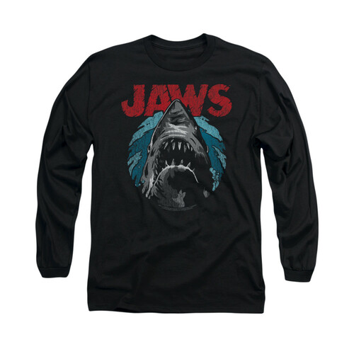 Image for Jaws Long Sleeve T-Shirt - Water Circle