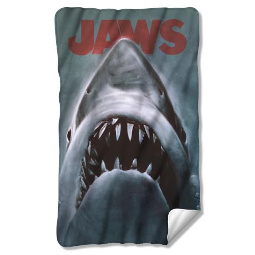 Jaws Fleece Blanket - Shark