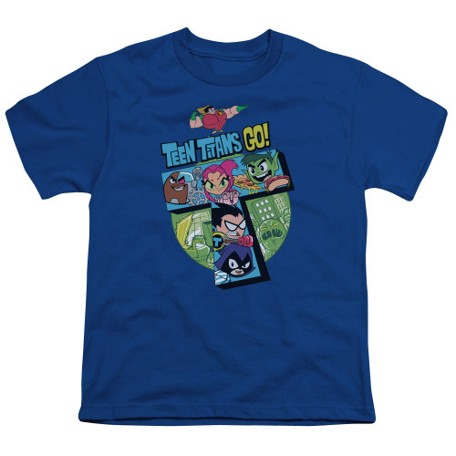 Image for Teen Titans Go! Youth T-Shirt - Big T