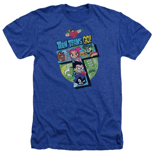 Image for Teen Titans Go! Heather T-Shirt - Big T