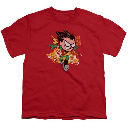 Image for Teen Titans Go! Youth T-Shirt - Robin