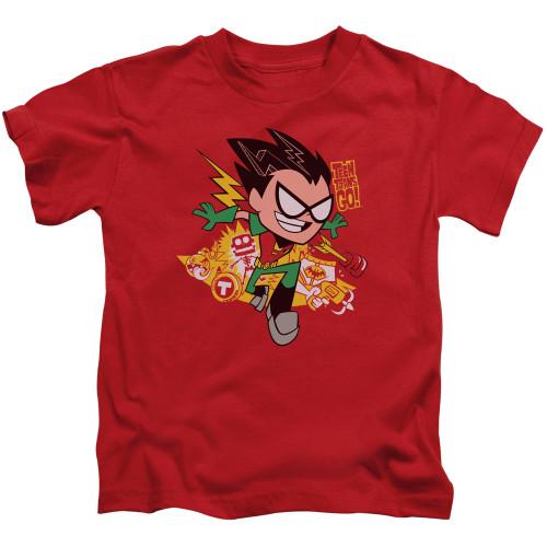 Image for Teen Titans Go! Kids T-Shirt - Robin