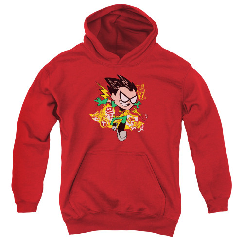 Image for Teen Titans Go! Youth Hoodie - Robin