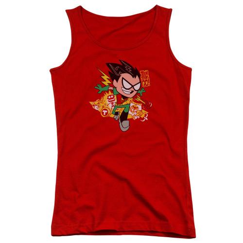 Image for Teen Titans Go! Girls Tank Top - Robin