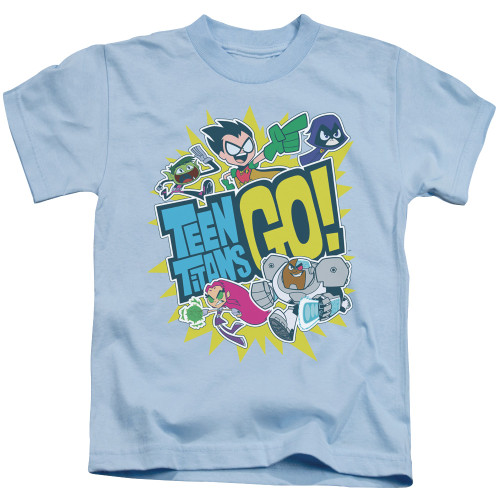 Image for Teen Titans Go! Kids T-Shirt - Go