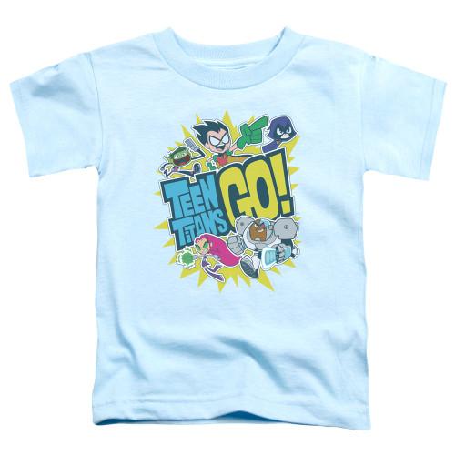 Image for Teen Titans Go! Toddler T-Shirt - Go