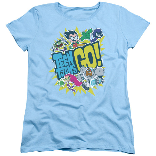 Image for Teen Titans Go! Woman's T-Shirt - Go