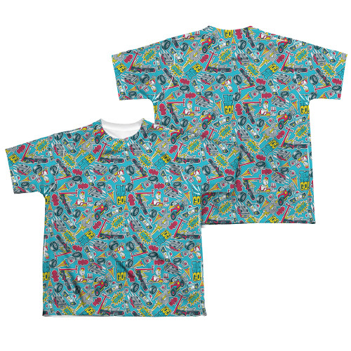 Image Closeup for Teen Titans Go! Sublimated Youth T-Shirt - Pattern