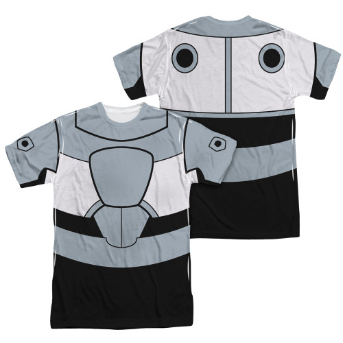 Image Closeup for Teen Titans Go! Sublimated T-Shirt - Cyborg Uniform