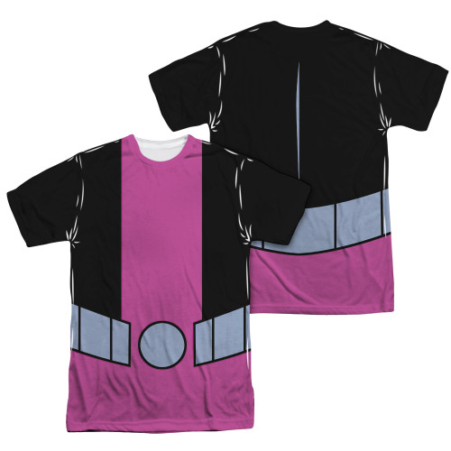Image Closeup for Teen Titans Go! Sublimated T-Shirt - Beast Boy Uniform