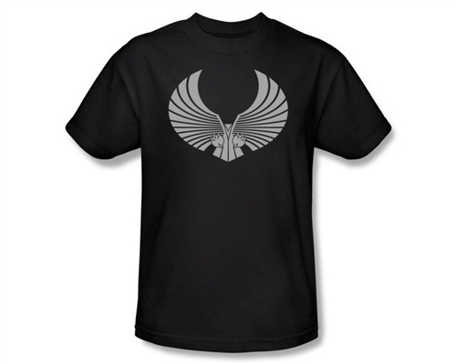 Image Closeup for Star Trek T-Shirt - Romulan Logo