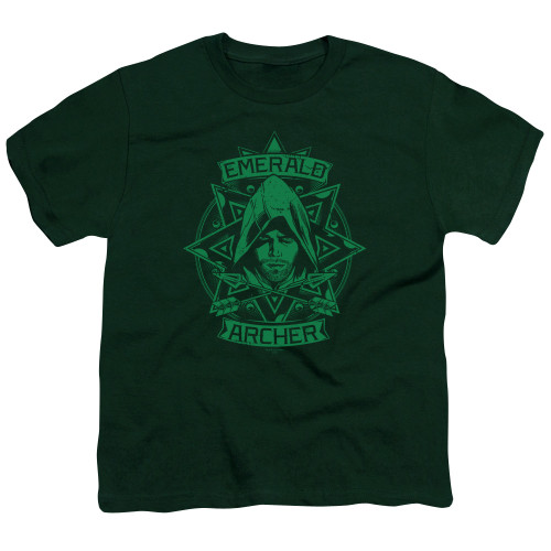 Image for Arrow Youth T-Shirt - Archer Illustration