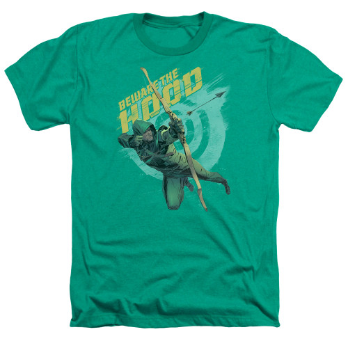 Image for Arrow Heather T-Shirt - Beware