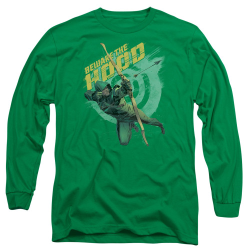 Image for Arrow Long Sleeve T-Shirt - Beware