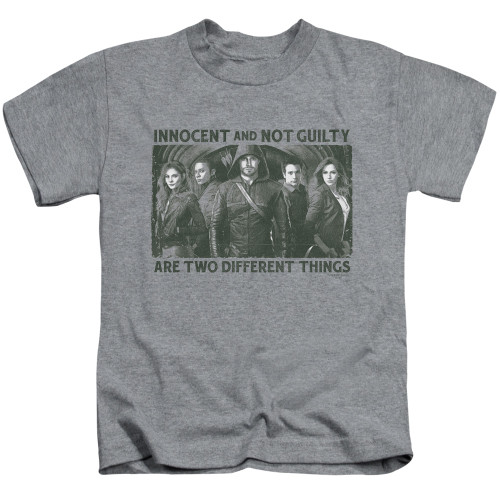 Image for Arrow Kids T-Shirt - Not Guilty