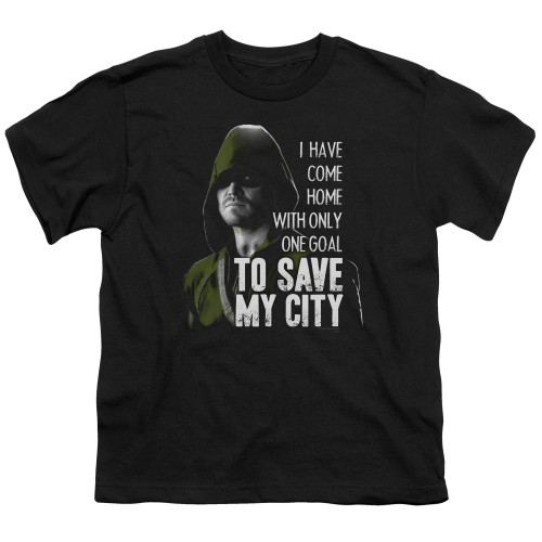 Image for Arrow Youth T-Shirt - Save My City