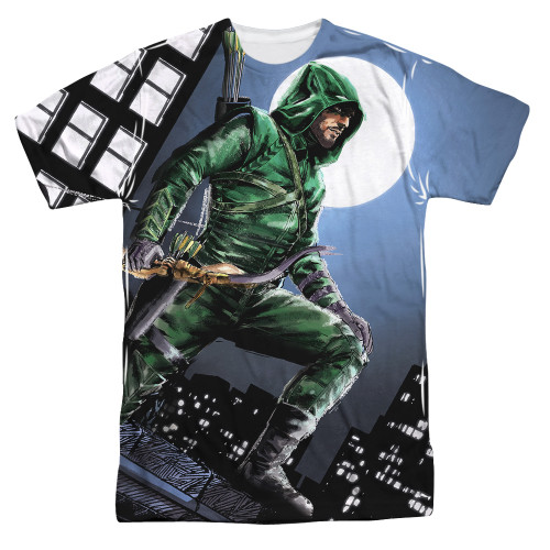 Image for Arrow Sublimated T-Shirt - Night Watch 100% Polyester