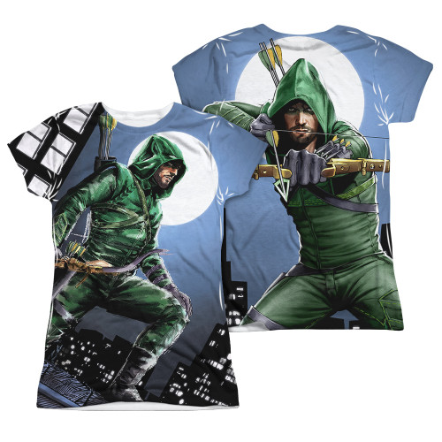 Image Closeup for Arrow Girls Sublimated T-Shirt - Night Watch
