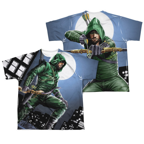 Image Closeup for Arrow Sublimated Youth T-Shirt - Night Watch