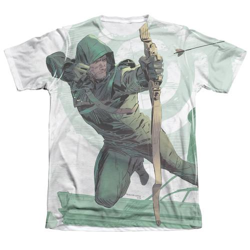 Image Closeup for Arrow Sublimated T-Shirt - City Bullseye