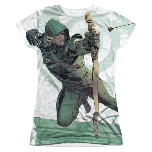 Image for Arrow Girls Sublimated T-Shirt - City Bullseye