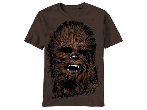 Image for Star Wars T-Shirt - Chewie Face
