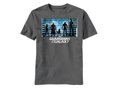 Image for Guardians of the Galaxy T-Shirt - The Line Up