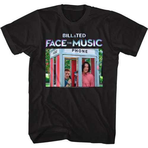 Image for Bill & Ted's Excellent Adventure T-Shirt - FTM Booth Color