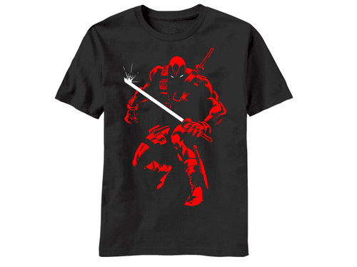 Image for Deadpool T-Shirt - Shadow Stalk