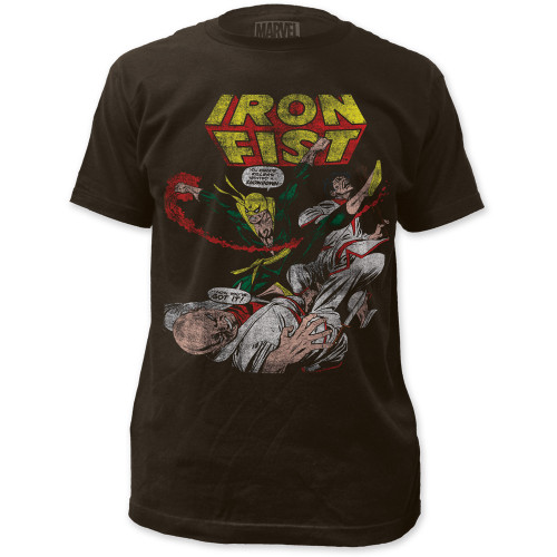 Image for Iron Fist T-Shirt - Showdown