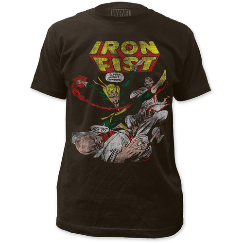 Image for Iron Fist T-Shirt - Showdown