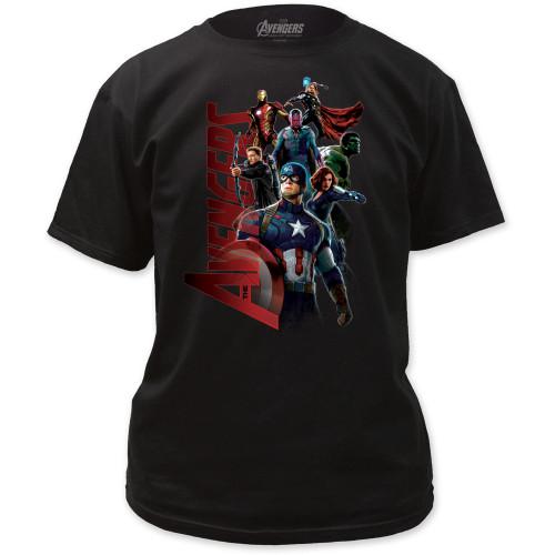 Image for Avengers T-Shirt - Gang