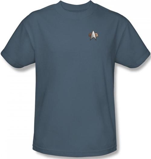 Image for Star Trek Deep Space Nine Uniform T-Shirt - Science