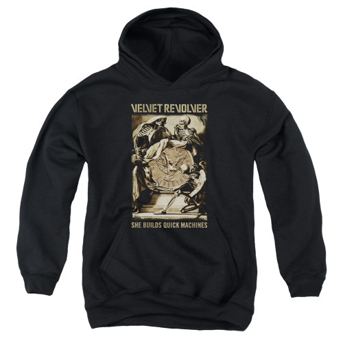 Image for Velvet Revolver Youth Hoodie - Quick Machines