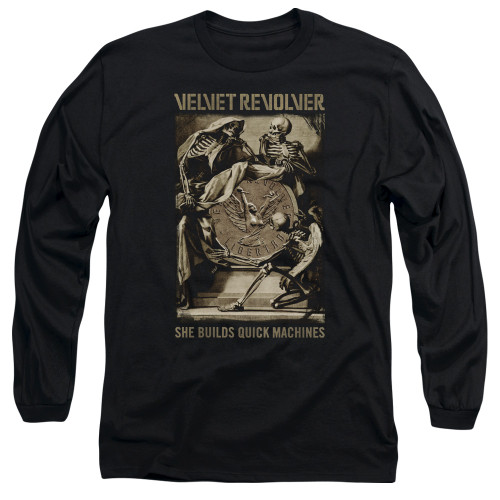 Image for Velvet Revolver Long Sleeve T-Shirt - Quick Machines