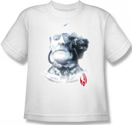 Image for Star Trek the Next Generation Youth T-Shirt - Borg Head