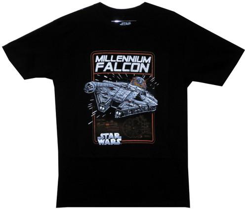 Image for Star Wars Millennium Falcon T-Shirt