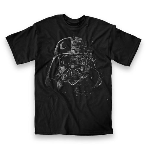 Image for Star Wars Broken Darth Mask T-Shirt