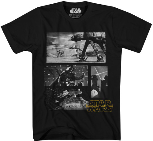 Star Wars T-Shirt - Empire Strikes Back Collage
