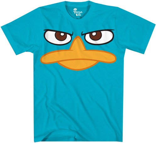 Image for Phineas and Ferb Duck Bill T-Shirt