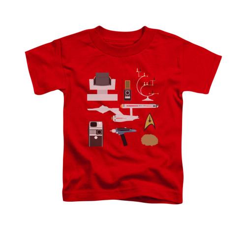 Image for Star Trek Toddler T-Shirt - Gift Set