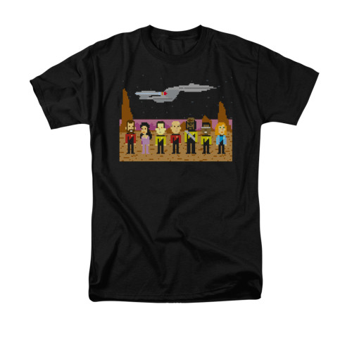 Image for Star Trek the Next Generation T-Shirt - 8 Bit Crew