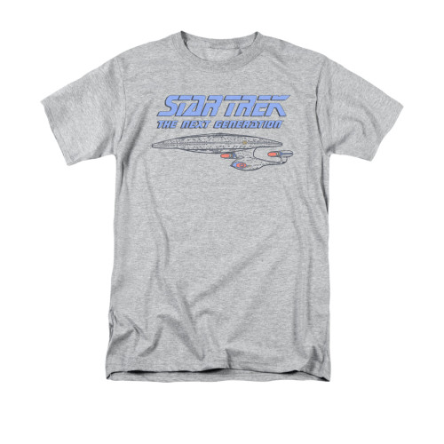 Image for Star Trek the Next Generation T-Shirt - Distressed
