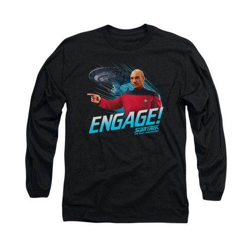 Image for Star Trek the Next Generation Long Sleeve Shirt - Engage