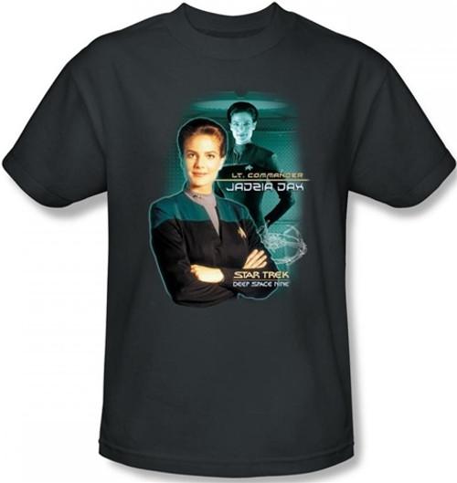 Image Closeup for Star Trek Deep Space Nine T-Shirt - Jadzia Dax