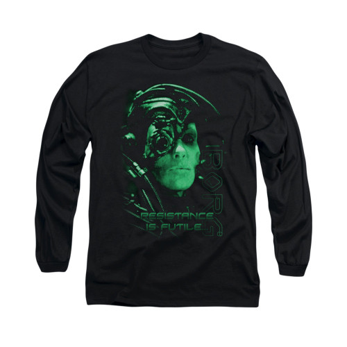 Image for Star Trek the Next Generation Long Sleeve Shirt - Resistance is Futile
