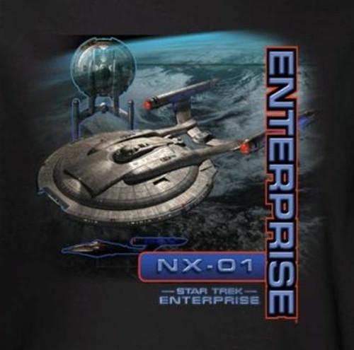 Image for Star Trek Enterprise T-Shirt - NX-01