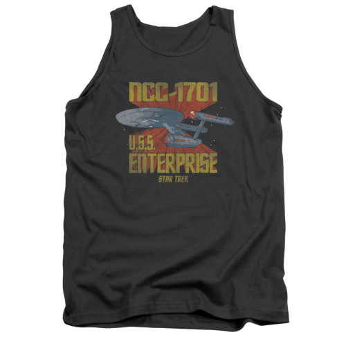 Image for Star Trek Tank Top - NCC1701 Animated
