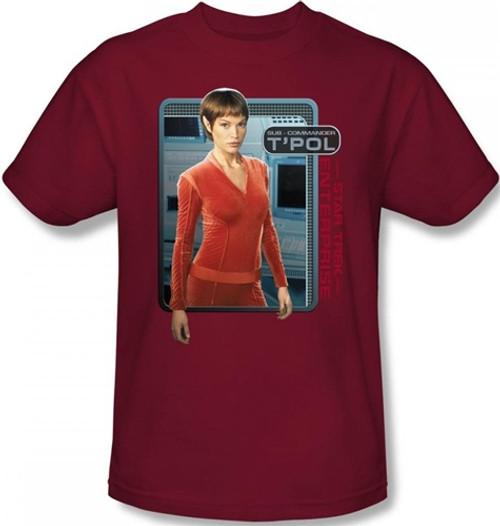 Image for Star Trek Enterprise T-Shirt - T'Pol