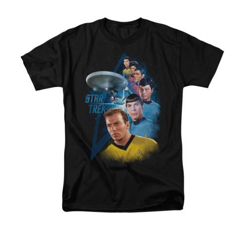 Image for Star Trek T-Shirt - Among the Stars
